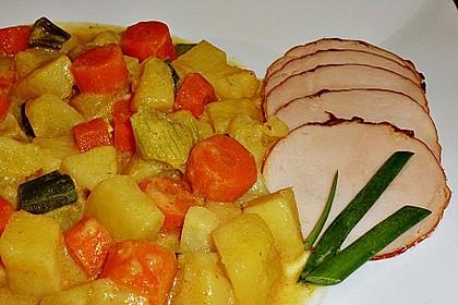 Möhren - Kartoffel - Kokos - Curry 3