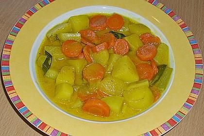 Möhren - Kartoffel - Kokos - Curry 0