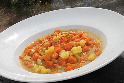 Möhren - Kartoffel - Kokos - Curry 10