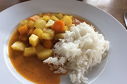 Möhren - Kartoffel - Kokos - Curry 16