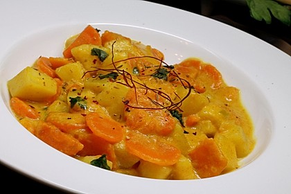 Möhren - Kartoffel - Kokos - Curry