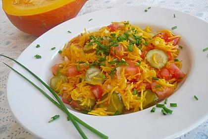 Kürbis - Salat