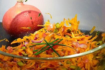 Kürbis - Salat 2