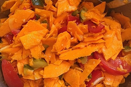 Kürbis - Salat 7