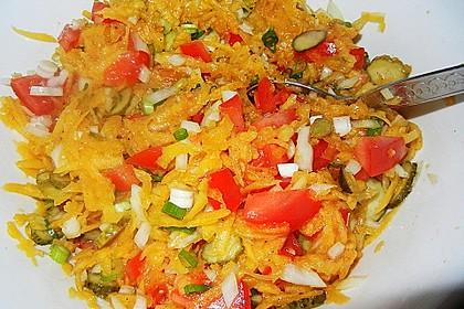 Kürbis - Salat 6