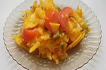 Kürbis - Salat 11
