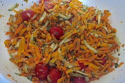 Kürbis - Salat 4
