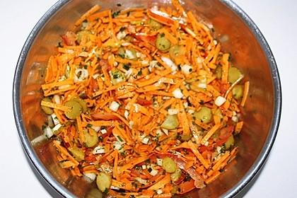 Kürbis - Salat 12