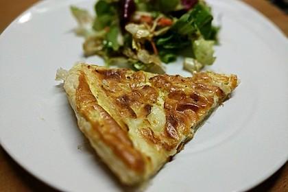 Quiches mit Camembert und Feigensenf 5