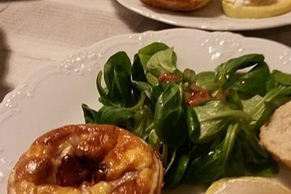 Quiches mit Camembert und Feigensenf 9