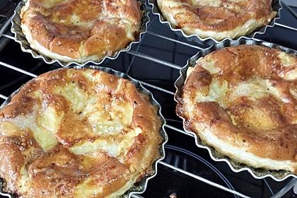 Quiches mit Camembert und Feigensenf 7