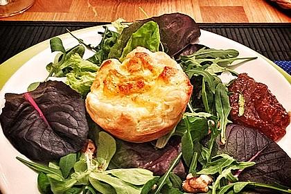 Quiches mit Camembert und Feigensenf 4
