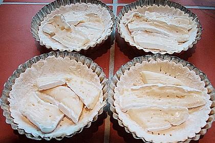 Quiches mit Camembert und Feigensenf 17