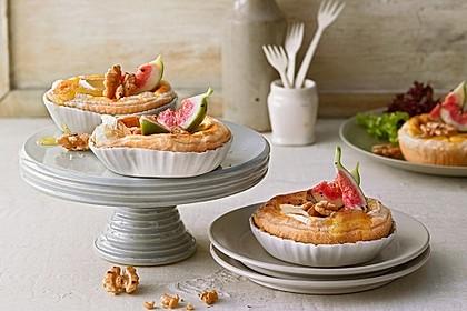 Quiches mit Camembert und Feigensenf 13