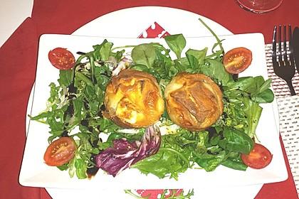 Quiches mit Camembert und Feigensenf 11