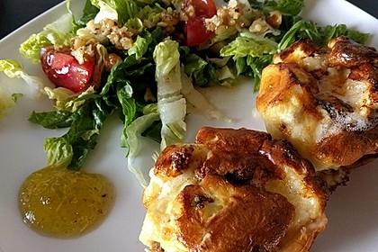 Quiches mit Camembert und Feigensenf 6