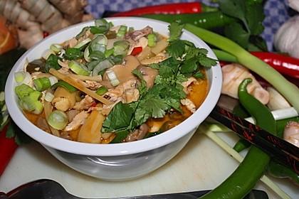 Tom Kha Gai - die berühmte Hühnersuppe mit Kokosmilch und Galgant 26