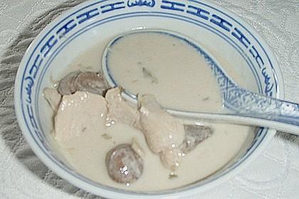 Tom Kha Gai - die berühmte Hühnersuppe mit Kokosmilch und Galgant 48