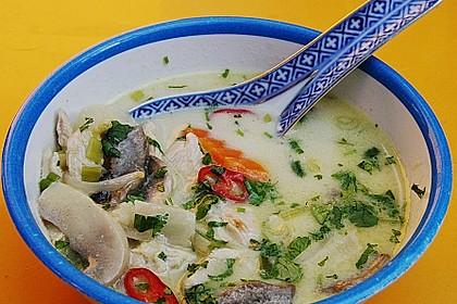 Tom Kha Gai - die berühmte Hühnersuppe mit Kokosmilch und Galgant 10