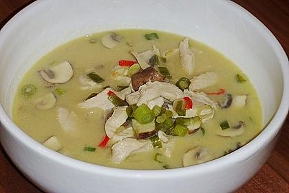 Tom Kha Gai - die berühmte Hühnersuppe mit Kokosmilch und Galgant 15