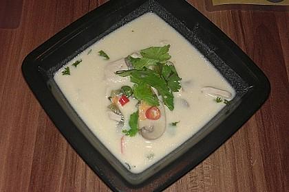 Tom Kha Gai - die berühmte Hühnersuppe mit Kokosmilch und Galgant 40