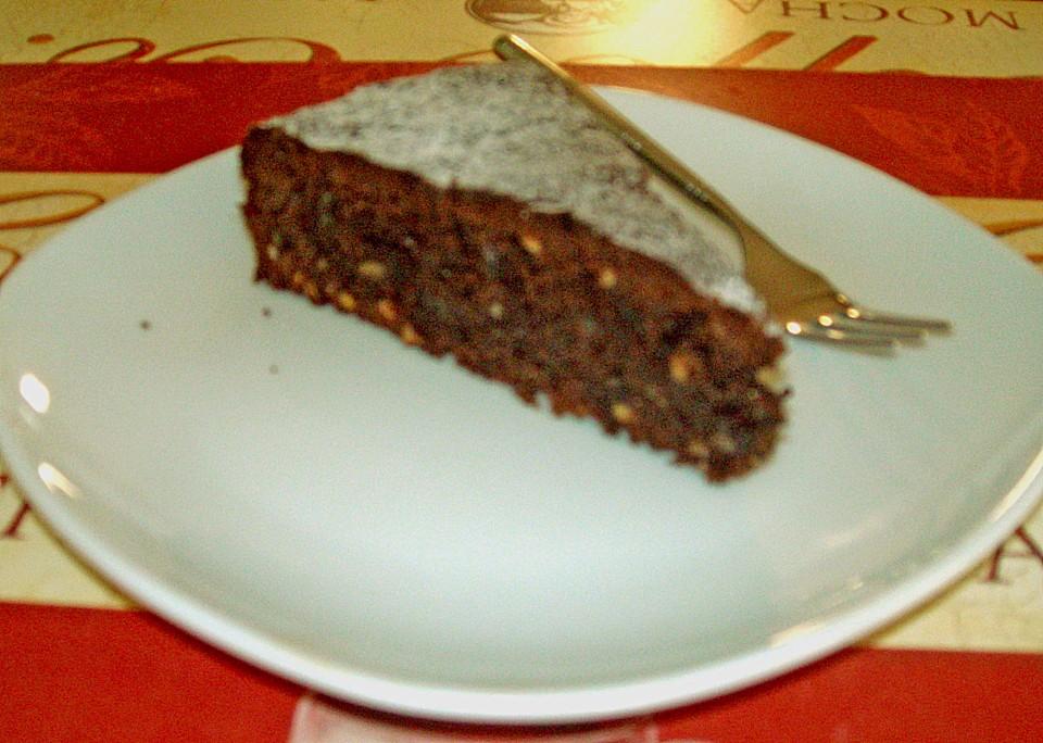 schoko mandel torte rezept mit bild von headchef. Black Bedroom Furniture Sets. Home Design Ideas