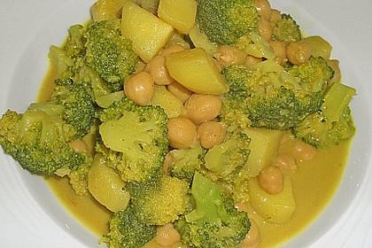 Kartoffel-Brokkoli-Curry mit Kokosmilch 22