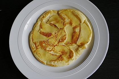Himmlisch zarte Apfelpfannkuchen 4
