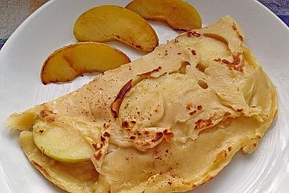 Himmlisch zarte Apfelpfannkuchen 2