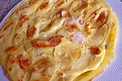 Himmlisch zarte Apfelpfannkuchen 9