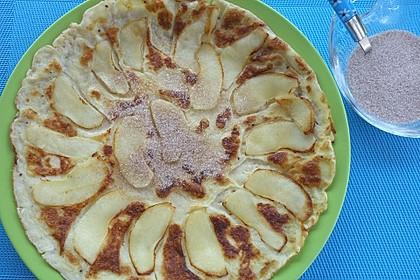 Himmlisch zarte Apfelpfannkuchen 5