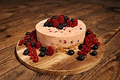 Johannisbeer - Joghurt - Torte 1