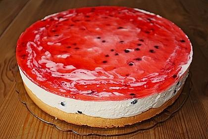 Johannisbeer - Joghurt - Torte 3