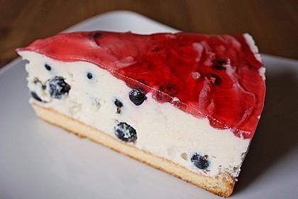 Johannisbeer - Joghurt - Torte 6
