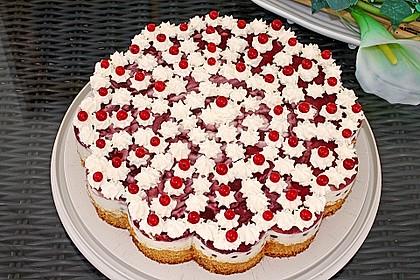 Johannisbeer - Joghurt - Torte 5