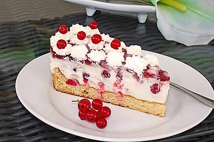 Johannisbeer - Joghurt - Torte