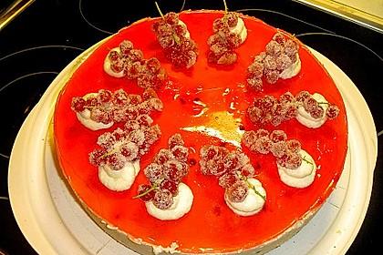 Johannisbeer - Joghurt - Torte 8