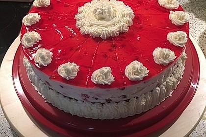 Johannisbeer - Joghurt - Torte 4