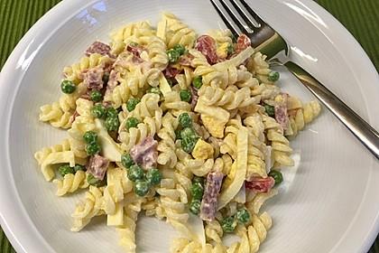 Nudelsalat mit Kasseler und Eiern 1