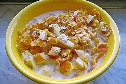 TuXies Haferflocken - Frühstück 2