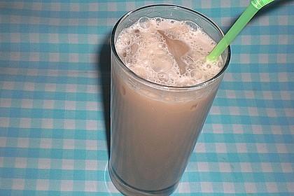 Schlanker Eiskaffee 1