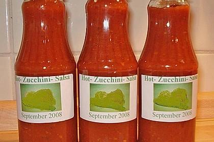 Hot Zucchini - Salsa 4