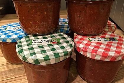 Hot Zucchini - Salsa 11