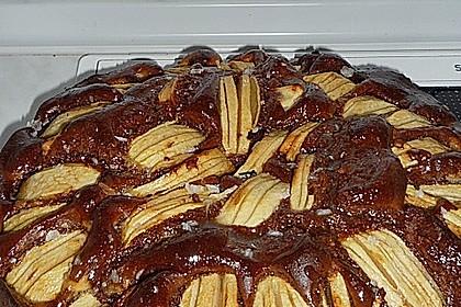 Apfel - Marzipan - Kuchen 24