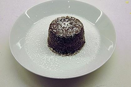 Espresso - Schokoladensoufflé mit Vanille - Äpfeln 3