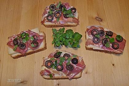 Gebackene Olivenschnitten 3