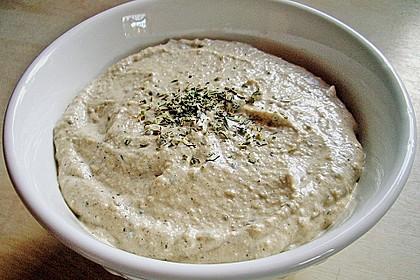 Auberginencreme türkische Art, mit Feta 4