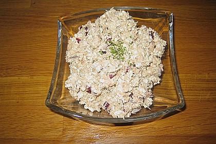 Auberginencreme türkische Art, mit Feta 11
