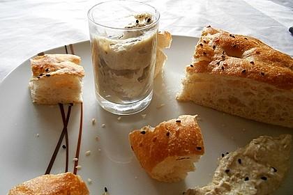 Auberginencreme türkische Art, mit Feta 9