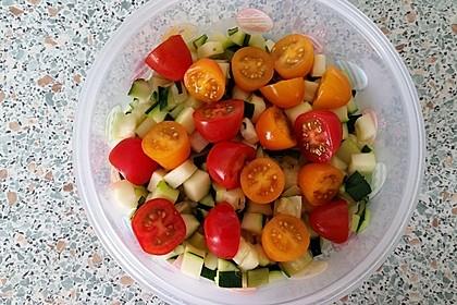 Zucchini - Tomaten - Paprika - Salat 4